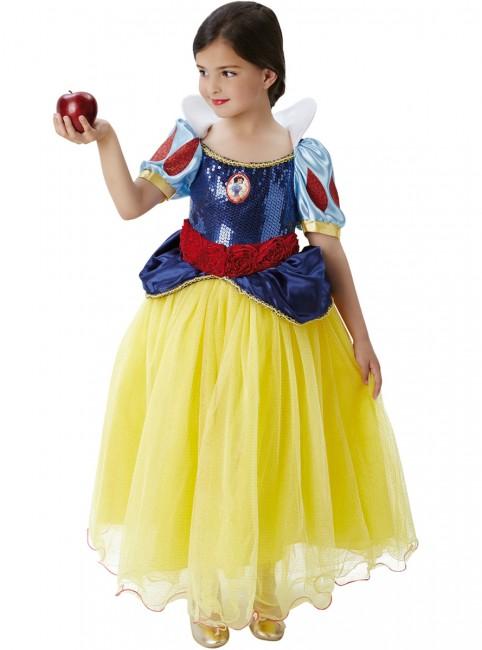 Fato Princesa Branca De Neve Premium Disney Festasparty