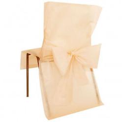 10 Capas Cobre Cadeiras Marfim