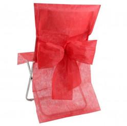 10 Capas Cobre Cadeiras Vermelho