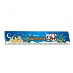 10 Velas Prateadas Sparklers Foguete 30cm
