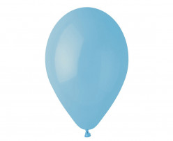 "100 Balões Azul Claro 10"" (26cm)"