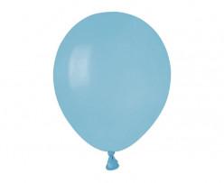 100 Balões Azul Claro 5 (13cm)