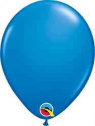 """100 Balões Azul Escuro Qualatex 5"""" (13cm)"""