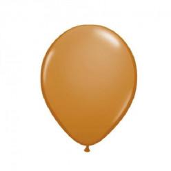 100 Balões Castanho Claro Qualatex 5 (13cm)