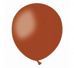 100 Balões Castanhos 5 (13cm)