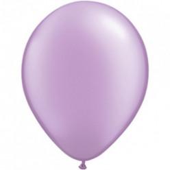 100 Balões Lavanda Pérola Qualatex 5 (13cm)