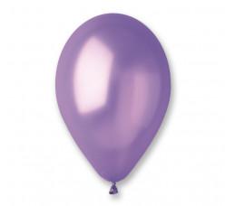 100 Balões Lilás Metalizados 10 (26cm)