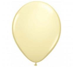 100 Balões Marfim Acetinado Qualatex 5 (13cm)