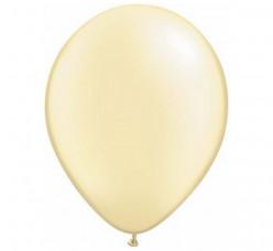 100 Balões Marfim Perola Qualatex 5 (13cm)