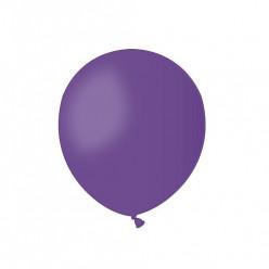 100 Balões Roxo 5 (13cm)