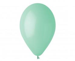"""100 Balões Verde Menta 10"""" (26cm)"""