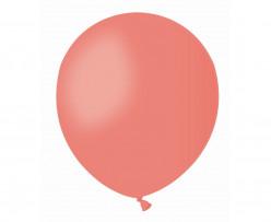 100 Balões Vermelho Coral 5 (13cm)