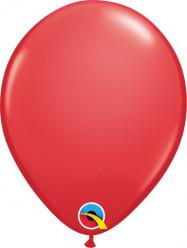 """100 Balões Vermelhos Qualatex 5"""" (13cm)"""