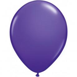 100 Balões Violeta Púrpura Qualatex 5 (13cm)