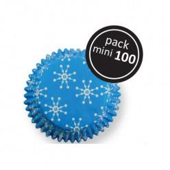 100 Mini Cápsulas PME Flocos de Neve