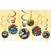 12 Espirais Decorativas Blaze and the Monster Machines