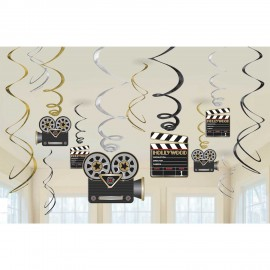 12 Espirais Decorativas Hollywood