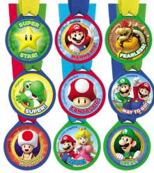 12 Medalhas Super Mario