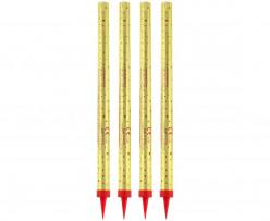 12 Velas Foguetes Sparklers 25cm