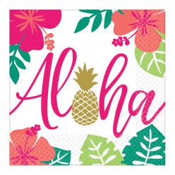 16 Guardanapos Havai
