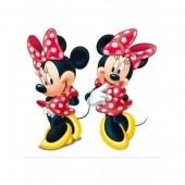 2 Figuras Cartão Disney Minnie