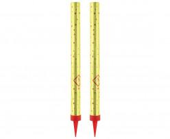 2 Velas Foguetes Sparklers 18cm
