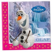 20 Guardanapos festa Olaf Frozen Disney