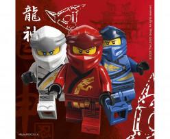 20 Guardanapos Lego Ninjago