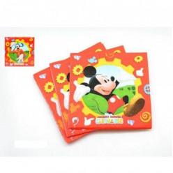 20 Guardanapos Mickey e do Pateta