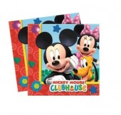 20 Guardanapos Mickey Mouse
