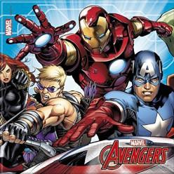 20 Guardanapos Mighty Avengers