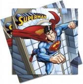 20 Guardanapos Super Homem / Superman