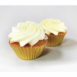 24 Forminhas Cup cake rústicas - Casamento