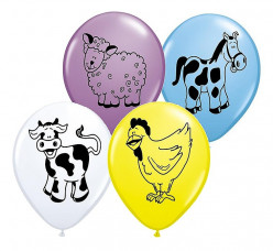 25 Balões Animais da Quinta Sortidos 11