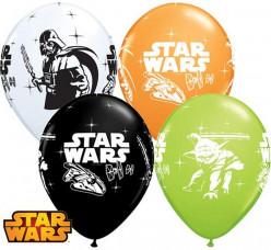 25 Balões Latex Star Wars Sortidos 11