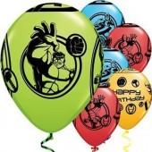 25 balões Marvel Avengers