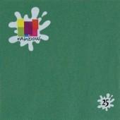 25 Guardanapos liso verde escuro 33 cm
