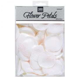 300 Pétalas de Rosa Branca