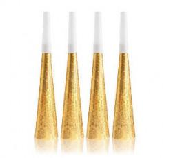 4 Cornetas Douradas
