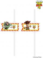 4 Palhinhas Papel Toy Story 4