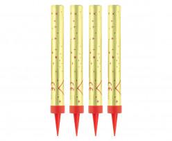 4 Velas Foguetes Sparklers 12cm