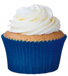 45 Cápsulas Cupcake Azuis