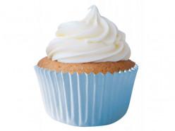 45 Cápsulas Cupcake Azul Bebé