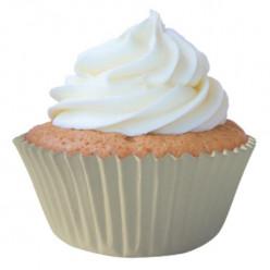 45 Cápsulas Cupcake Brancas