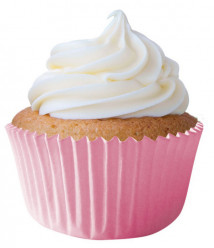 45 Cápsulas Cupcake Rosa Bebé