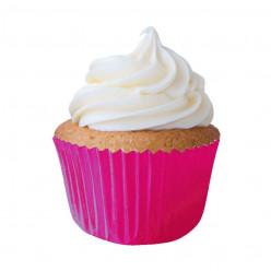 45 Cápsulas Cupcake Rosas