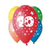 5 Balões Premium Látex Nº 10 - 30cm