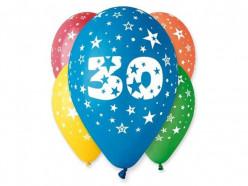 5 Balões Premium Látex Nº 30 - 30cm