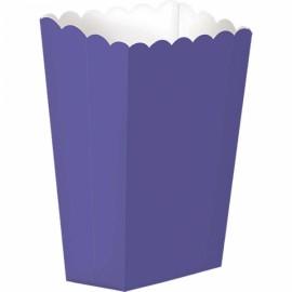 5 Caixas Pipocas Lisas – Lilás