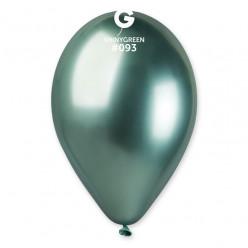 50 Balões Verdes Shiny 13 (33cm)
